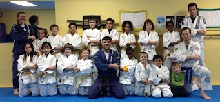 Kid's Martial Arts Class with Jiu-jitsu and Self-Defense at Bartman MMA