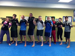 MMA Kickboxing and Grappling Class Photos