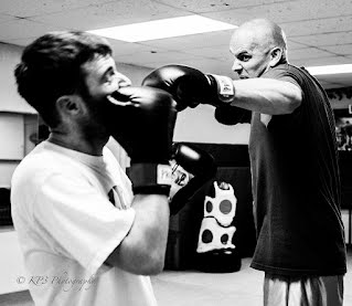 Sparring in MMA Boxing Striking Class