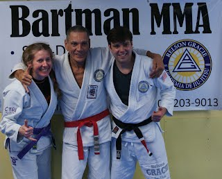 Relson Gracie with Greg Bartman and Tori Garten