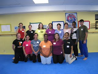 Women's Self-Defense Workshop Class personalized  for small company