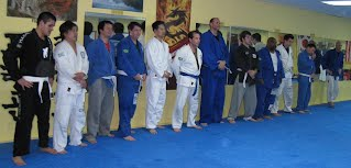 BartmanMMA Members lined up for testing and promotions