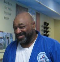 Bill on promotion night at Bartman MMA and Self-Defense, a Relson Gracie Association near Washington DC