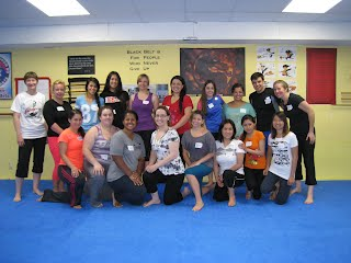 Women's Self-Defense Seminar Class at Bartman MMA